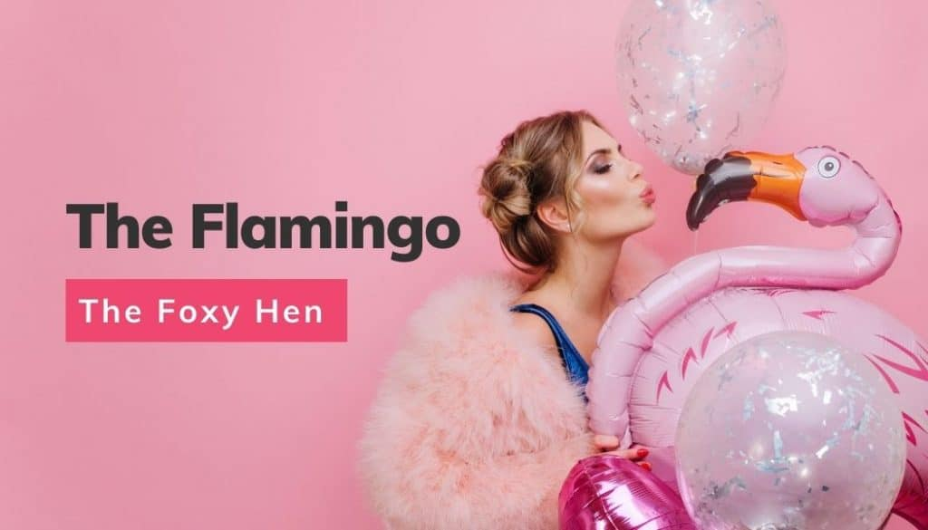 The flamingo newsletter from The Foxy Hen for hen party news, ideas and competitions