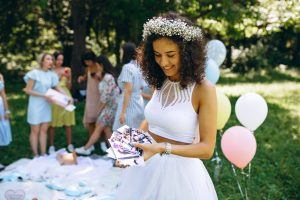 Why is it called a hen party - a bride opening gifts at her hen do